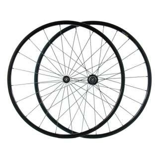 Full Carbon Fiber Tubular Wheels / Wheelsets   3K/Black   Size 700c