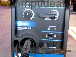 Miller Millermatic 210 MIG Welder. Dual Gas Cyl Cart+ Extras Included