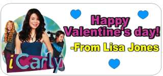iCARLY VALENTINE CARDS *DISCOUNTS AVALIABLE WITH  TOO