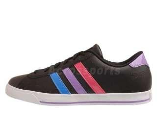 Adidas SE Daily QT Neo Label Black Blue Purple 2012 Womens Casual