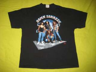 VTG DAMN YANKEES 1993 TOUR T SHIRT TED NUGENT CONCERT