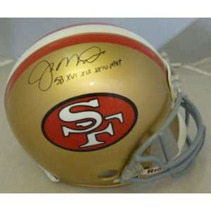 Joe Montana Autographed San Francisco 49ers Proline Helmet