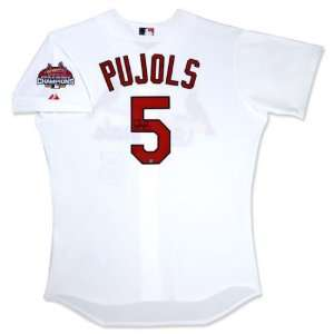 Albert Pujols St. Louis Cardinals Autographed Home/White Jersey with