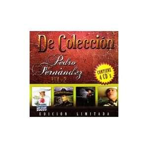 De Coleccion Vol.2 4CDs Pedro Fernandez Music