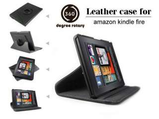 New Folid Stand Leather Case Cover 360 Rotatable Degree for