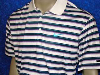 2011 Nike Tiger Woods Golf Polo Shirt US OPEN/FRIDAY