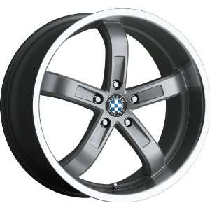 18x8.5 Beyern Five (Silver) Wheels/Rims 5x120 (1885BYF155120S74)