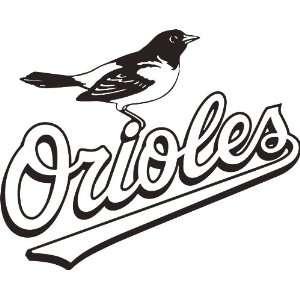 Baltimore Orioles MLB Vinyl Decal Sticker / 8 x 10