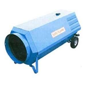 Dual Fuel Portable Make Up Air Heater   400000 Btu