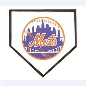 New York Mets MLB Home Plate Stepping Stone (12) Sports & Outdoors