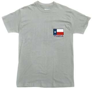 Texas State Flag Pocket T Shirt New 2 Colors Available