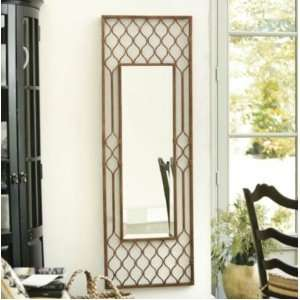 Long Full Length Metal Exotic Wall Mirror