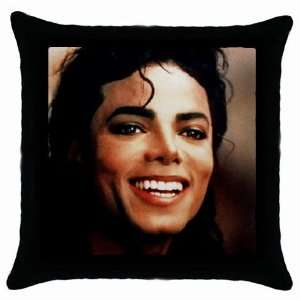 Cute Michael Jackson King of Pop Throw Pillow Case
