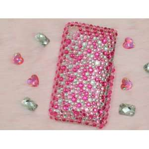 spots Rhinestone Bling Case for iPhone 3GS Cell Phones & Accessories