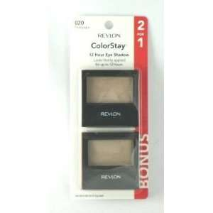 Revlon Colorstay 12 Hour Eye Shadow 2 for 1 Champagne