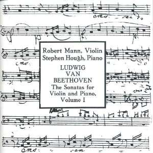 Beethoven: Sonatas for Violin and Piano   Volume I [Box