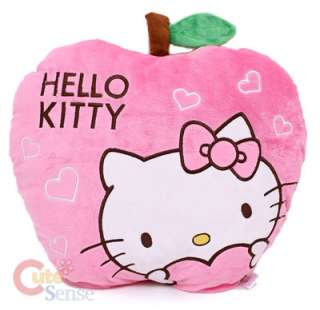 Sanrio Hello Kitty Pillow Cushion  Pink Apple Love