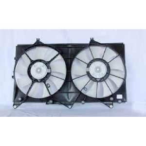 LEXUS ES 300/04 08 TY SOLRA V6 RADIATOR & COND CONDENSER FAN ASSEMBLY