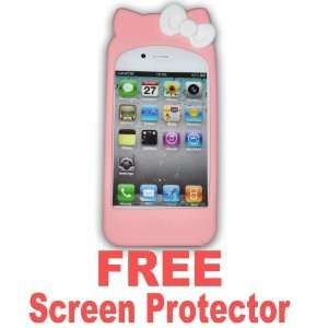 Hello Kitty TPU Soft Case Cover for Apple Iphone4 4g