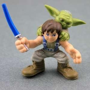 Ship Star Wars Galactic Heroe   Luke Skywalker YODA ACTION FIGURE SW24
