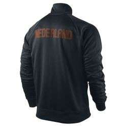 Nike Holland   Netherlands EURO 2012 TR Soccer Jacket Brand New Black
