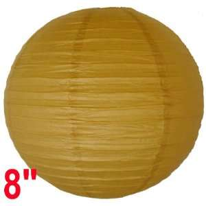 Light Brown Chinese/Japanese Paper Lantern/Lamp 8 Diameter   Just