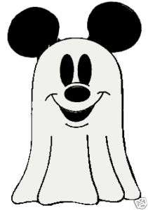 MICKEY MOUSE+EARS Halloween GHOST COSTUME Disney Pin