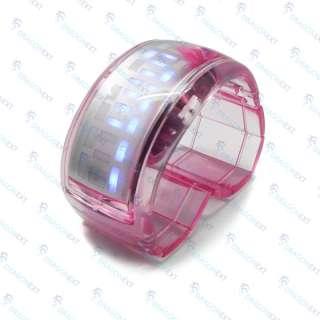 ODM Crystal Digital LED Bracelet Wrist Bangle Watch Box