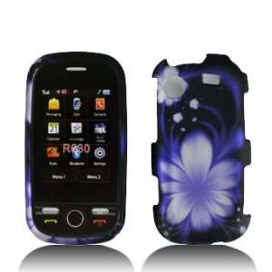Samsung Messager Touch R630 Premium Design Blue Lotus Hard