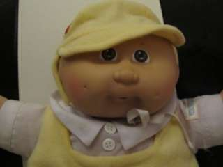 Vintage 80s Cabbage Patch Kids Preemie boy doll ORIGINAL OUTFIT