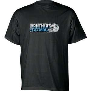 Carolina Panthers NFL Eighties Helmet Logo T Shirt Sports
