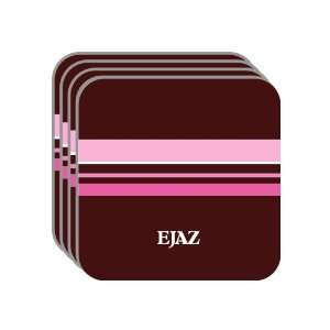 Personal Name Gift   EJAZ Set of 4 Mini Mousepad Coasters (pink
