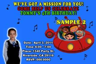 LITTLE EINSTEINS BIRTHDAY PARTY INVITATIONS FAVORS FAST AND FREE