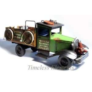 White Mountain National Forest Rescue Truck, Tin Car Home & Kitchen