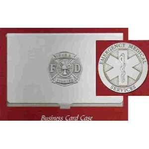 EMS Emergency Medical Services Business Card Case Office