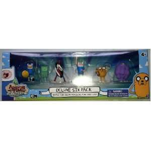Time with Finn & Jake Deluxe Six Pack Figurines Toys & Games