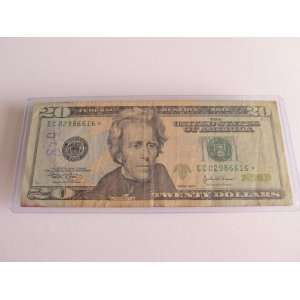Twenty Dollars Star Note Series 2004 $20 Bill EC02986616