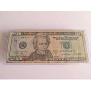 Twenty Dollars Star Note Series 2004 $20 Bill EC02986616