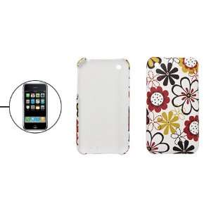 Gino Hard Back Cover Charm Flower Plastic Case for iPhone