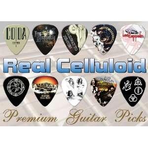 Led Zeppelin Premium Guitar Picks X 10 (A5) Musical