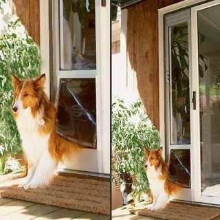 PETSAFE 92  96 SLIDING PATIO GLASS DOOR PET DOG DOOR