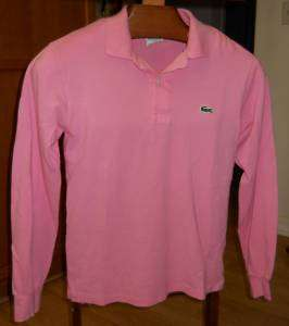LaCoste size 2 US 34 Polo Shirt Womens