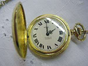 VTG Deco Arnex France 17 Jewels Pocket Watch Incabloc