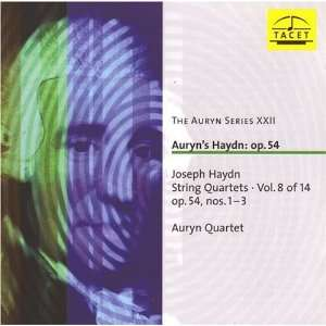 Auryns Haydn: Op. 54   String Quartets, Vol 8 of 14, Nos