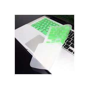 TopCase GREEN Keyboard Silicone Skin Cover with palm rest area