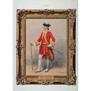 ORIG. Ad Portrait Captain Richard Hennessy Cognac   Original Print Ad