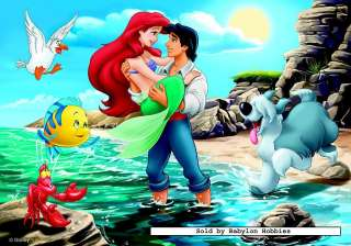 picture of Jumbo 50 pieces jigsaw puzzle Disney   Little Mermaid