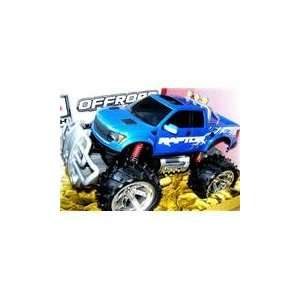 Remote Control Ford Style F 150 Monster RC Truck Toys & Games