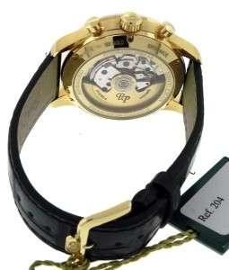 New Mens Paul Picot Gentleman 42 18K Rose Gold Automatic Chronograph
