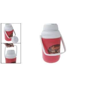 Red Portable Plastic Drinking Water Bottle 1650 ml